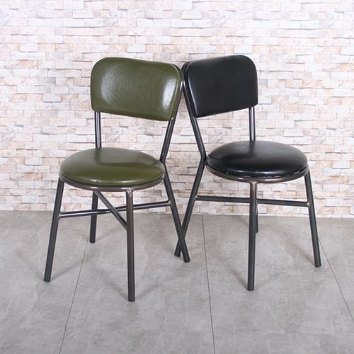 AD265 투썸의자 / 커피숍가구 디자인체어 예쁜의자 스틸체어 가죽 ...