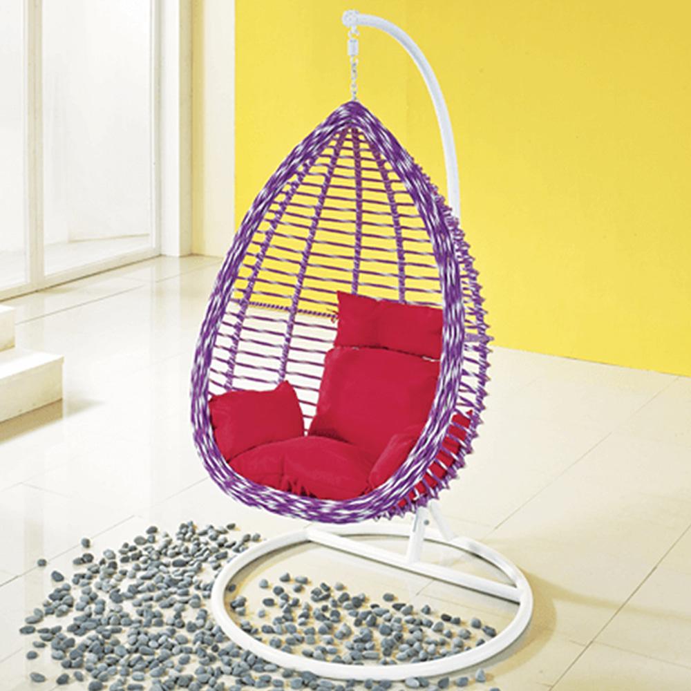 EA058  W81*H199  DS1005그네 / 야외용가구 철제 등나무의자 라탄그네의자 라탄의자 실내 스튜디오 매장 야외용그네 정원그네 그네의자 흔들그네 | 피카소가구