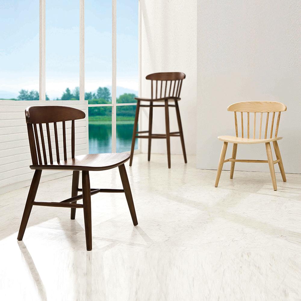 AJ124 W50*D48*SH43.5*H74  스윙체어 / 카페인테리어가구 헤이체어st 업소용 식탁의자 목재의자 까페 커피숍 식당 휴게실 예쁜원목의자 | 피카소가구