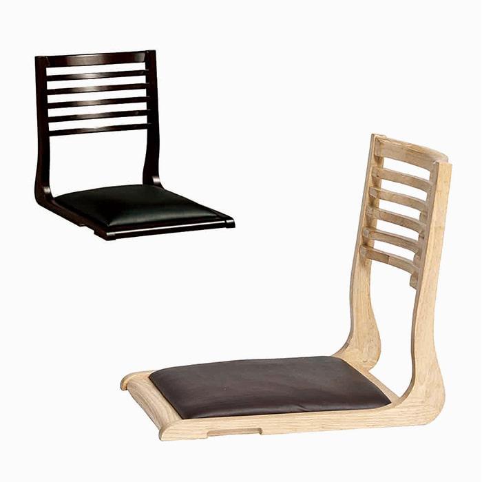 AJ127  좌식체어C / 업소용가구 식탁의자 목재의자 가죽의자 등받이의자 식당 거실 앉는의자 좌식의자 다리없는의자피카소가구