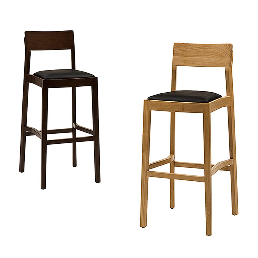 BD032  W41*D47*SH78*H107  스누피바텐 / 높은의자 빠체어 빠텐의자 바의자 카페 업소용 아일랜드홈바의자 업소용바의자 원목바텐 목재바텐 가죽바텐 | 피카소가구