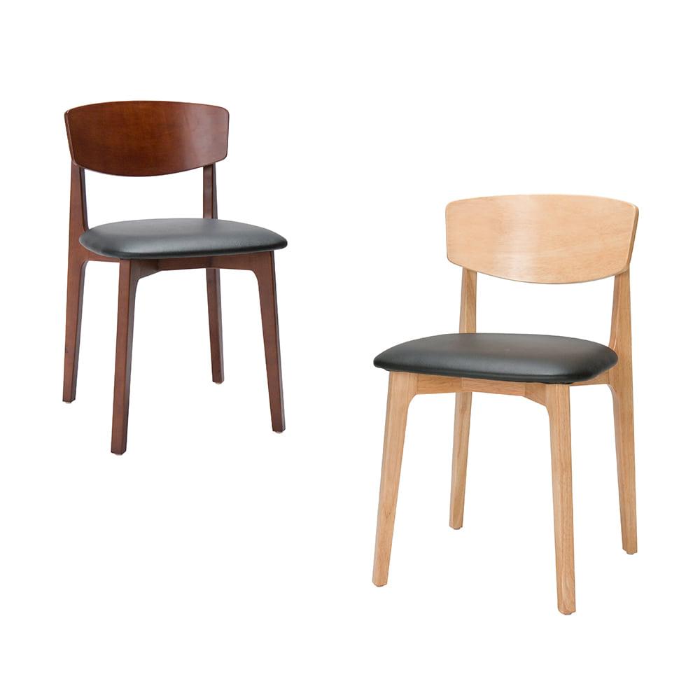AJ032 VC113체어 / 식탁의자 목재의자 원목의자 가죽식탁의자 커피숍 식당 상담실 고급식탁의자 | 피카소가구