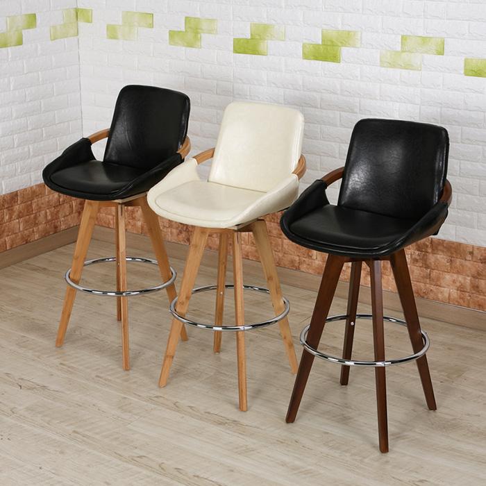 BD061  W40*D42*SH75*H105  285바텐 / 카페인테리어가구 목재 우드 바텐의자 높은의자 가죽바의자 스몰비어 까페 업소용 BAR 디자인바체어 | 피카소가구