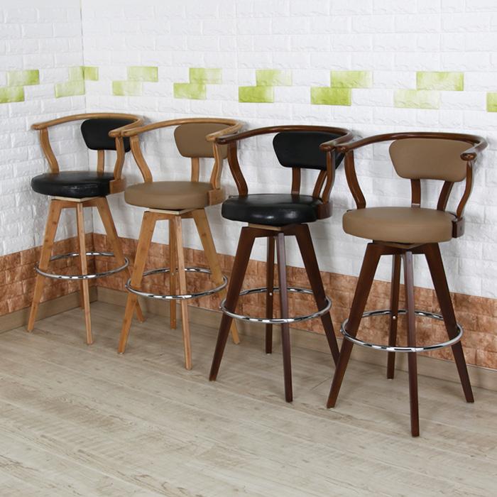 BD063  W56*D54*SH76*H102  287바텐 / 카페인테리어가구 목재 우드 바텐의자 높은의자 가죽바의자 스몰비어 까페 업소용 BAR 디자인바체어 | 피카소가구