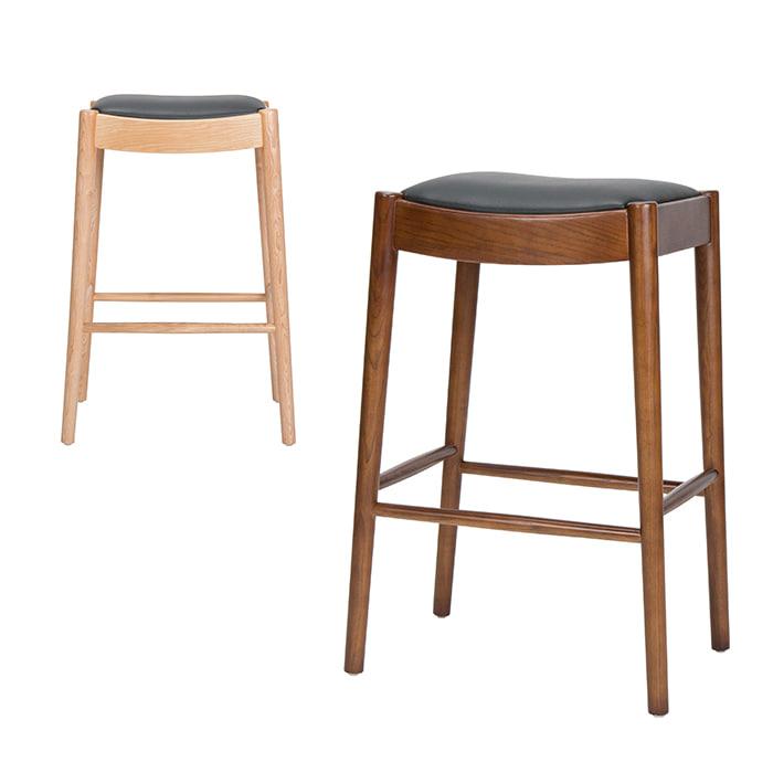 BD075  W37*D35*H68  VC112바텐 / 아일랜드식탁의자 홈바의자 원목빠의자 나무바의자 팬션 호텔 예쁜홈바의자 높은의자 | 피카소가구