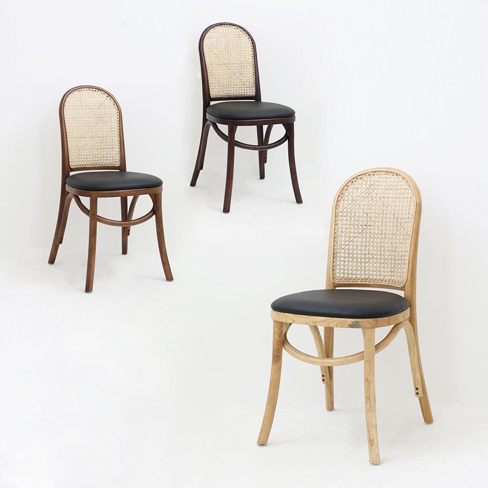 AJ320W43*D46*H83.5레이체어 / 디자인체어 인테리어의자 라탄의자 목재의자 피카소가구 | 피카소가구
