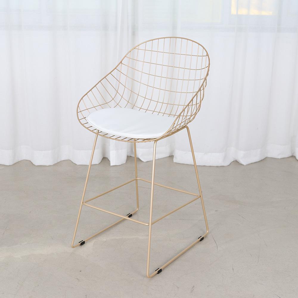BD109 W60*D56*H103도브바텐골드 / 디자인바텐 인테리어 골드프레임 아일랜드홈바 높은의자 바텐의자 피카소가구 | 피카소가구
